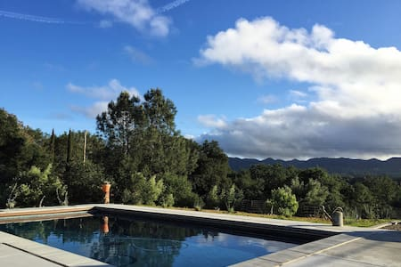 Mountain Sanctuary, Saltwater Pool - Santa Margarita