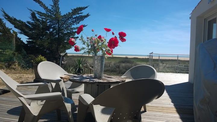 Maison 4 personnes vue mer panoramique réserve nat