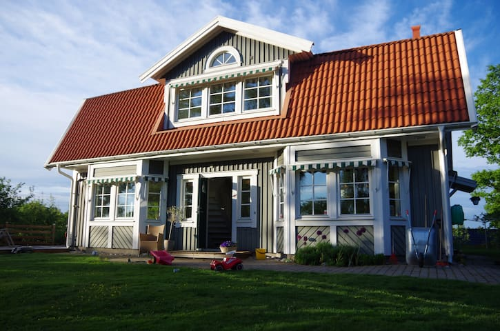 House by the sea only 35 mins from Stockholm