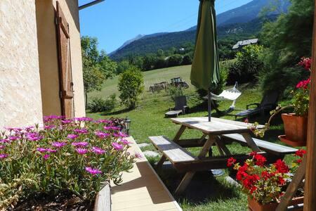 Appart dans villa a la campagne près d'embrun