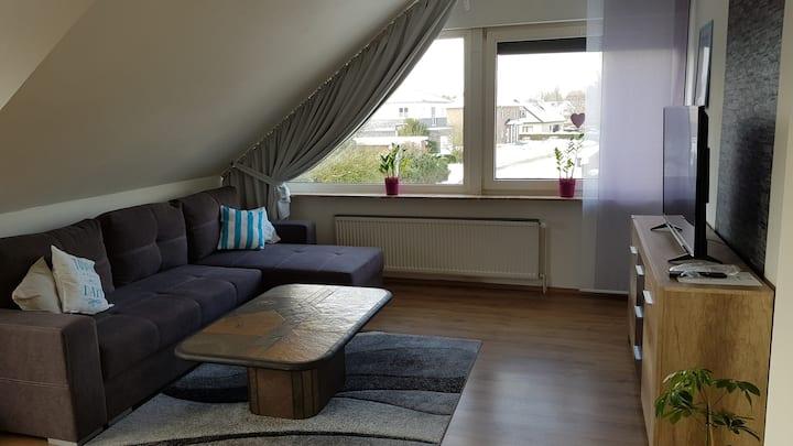 Ruhige Wohnung nahe Ortszentrum