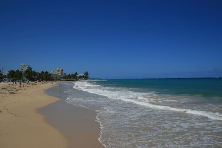 Ocean Park Beach, a short walk from the house!