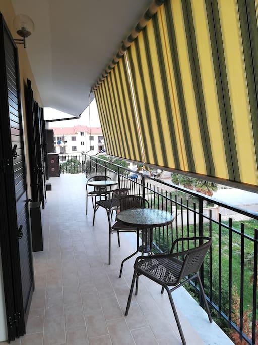 Balkon, 15 m