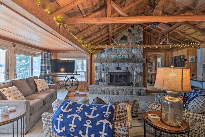NEW! Cozy Lake Mitchell Cabin w/ Waterfront Views!