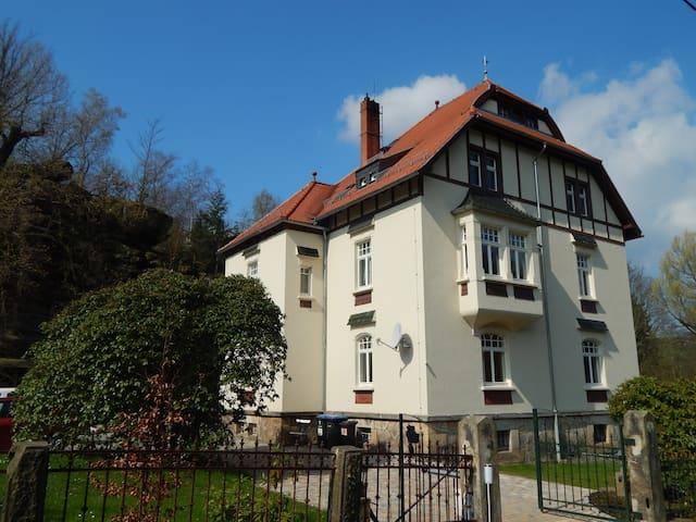 Jugendstilvilla Rosenthal - Rosenthal-Bielatal - Casa de férias