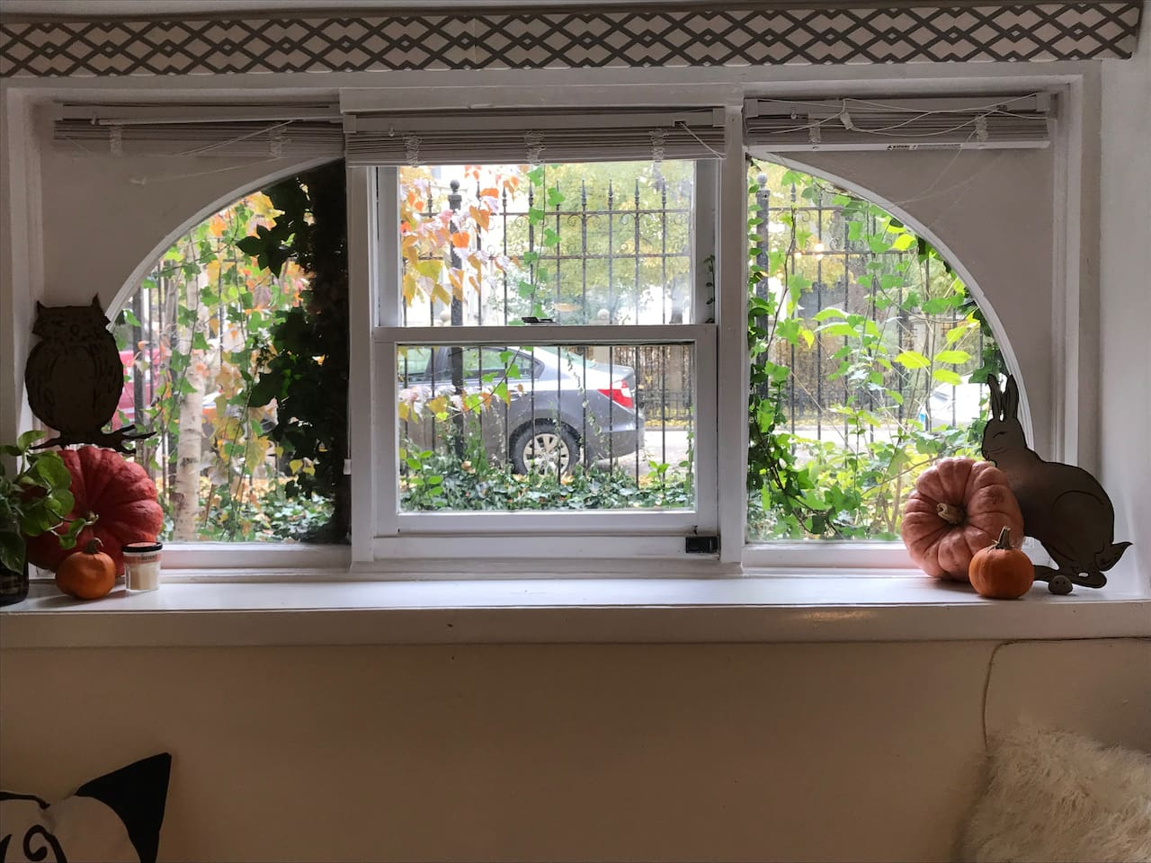 Gorgeous windows- highlight of the apartment.