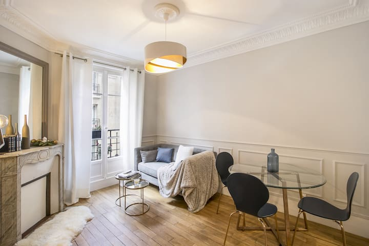 Luxurious and refined  Parisian appartment