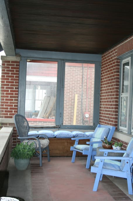 Sit out front on the Porch