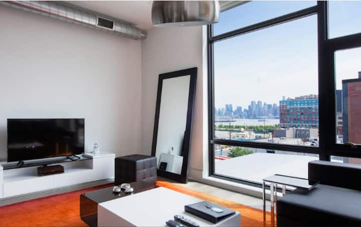Dharma | Hoboken | Stunning 1BR + City Views 🌃