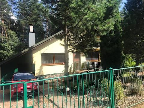 Ferienhaus in ruhiger Natur am See/  Danzig.