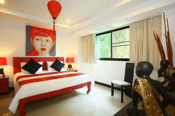OBD2 Private corner room & large private balcony