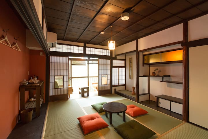 【Guest House hachi】Japanese Room with Balcony