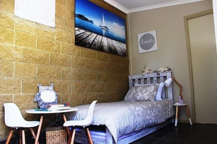 The Third Bedroom provides a single bed with a trundle underneath
