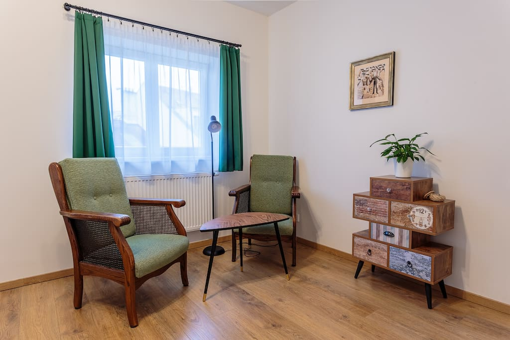 Retro and stylish chairs for relaxing