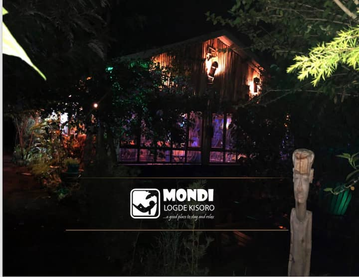 Mondi is a good place to stay and relax in nature.