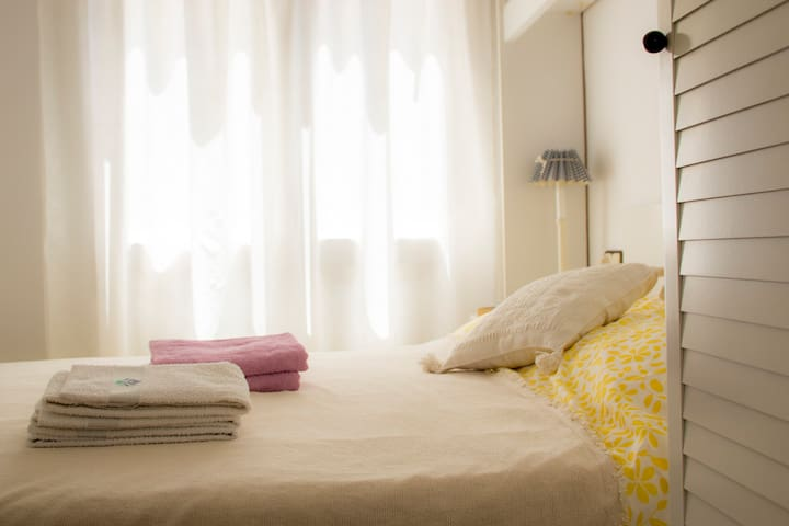 Уютная квартира в центре, в 4 минутах от пляжа