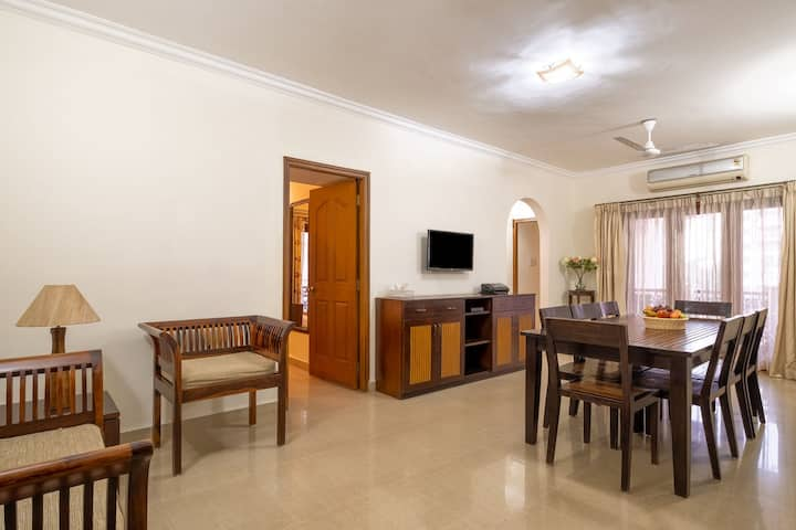2BHK Fully Furnished Luxury Apartment in Miramar