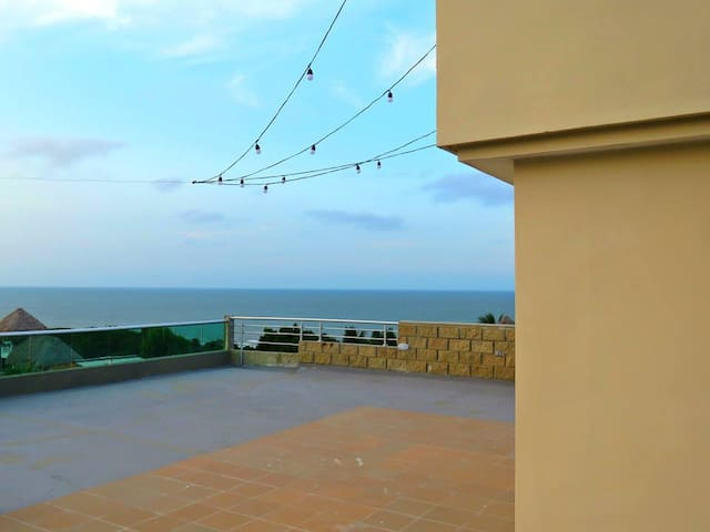 Modern apartments with view to the ocean