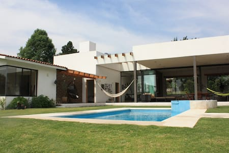Beautiful  house to enjoy and relax - Malinalco - Casa