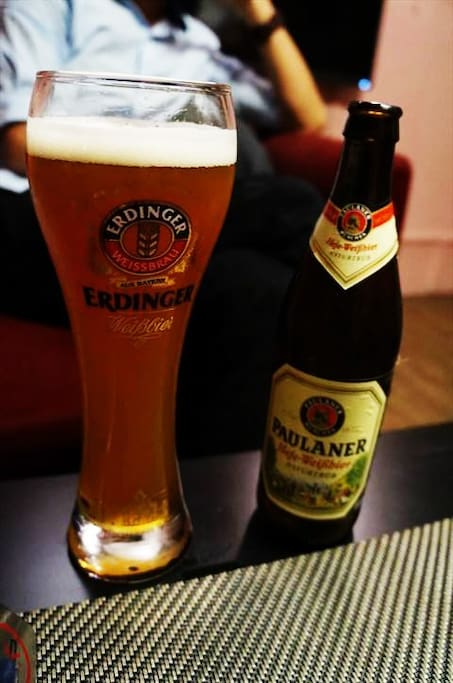 Enjoy a beer.