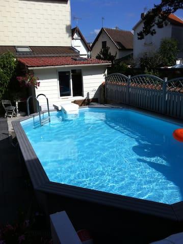 Appartement T3,avec piscine - Quend - Pis