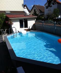Appartement T3,avec piscine - Quend