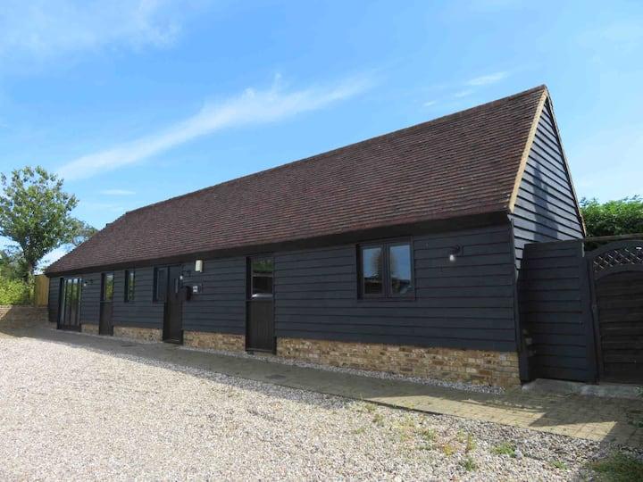 Semi rural barn conversion near the beach!