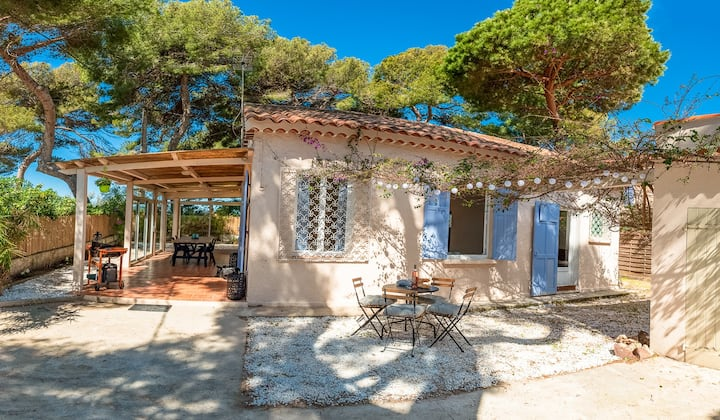 Villa Mireguy, 100m from the beach in La Capte