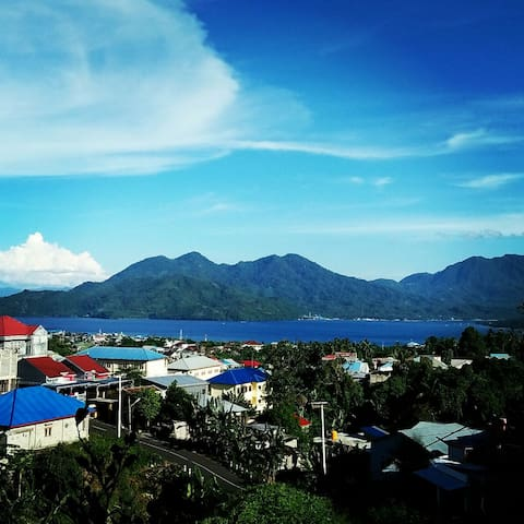 Amazing view to Tidore Island
