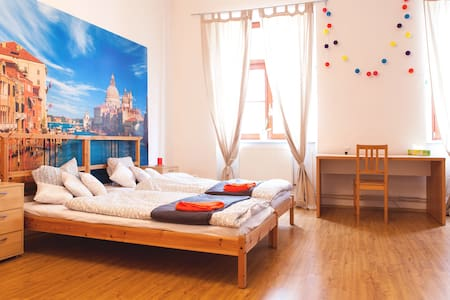 Spacious room in italian style in the centre - Brno - Departamento