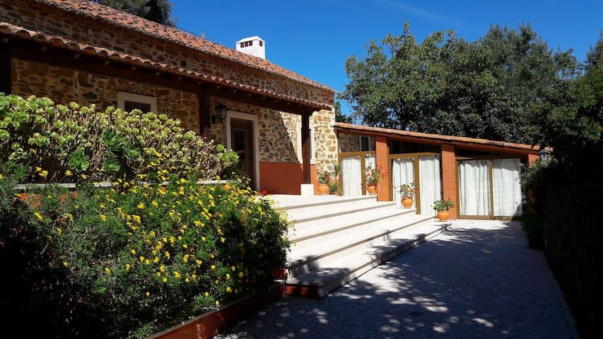 Casa do Covão Grande -  Casa de Campo - Rio Maior - วิลล่า