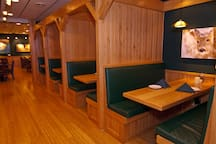Cozy Up Together in a Private Booth