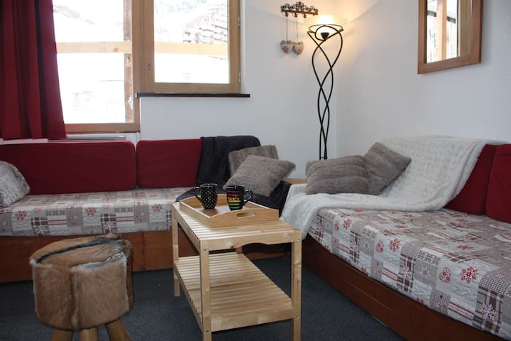 Apartement 4 to 5 persons on the ski area