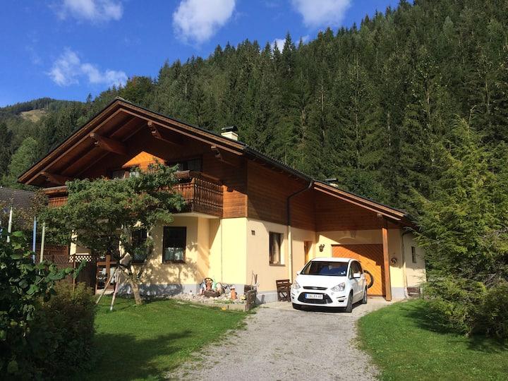 House close to lake Weißensee