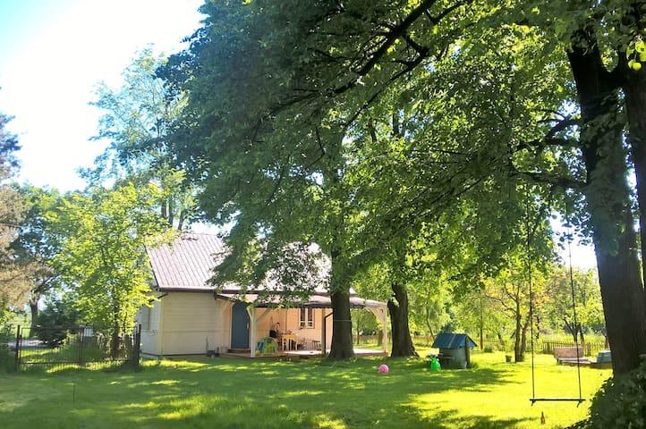 Pokój w domku na wsi - sielsko-anielsko