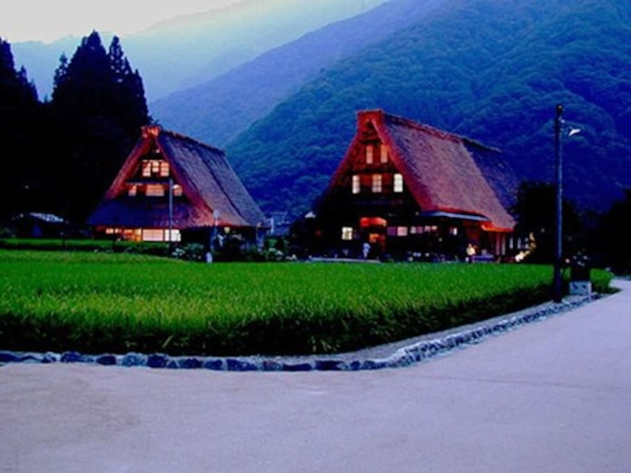 -About a 40 minute by car from The World Heritage Gassho-zukuri Village of Gokayama