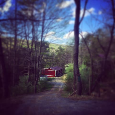 Radharc an Mhóinéir: A Charming Cabin by a Stream!