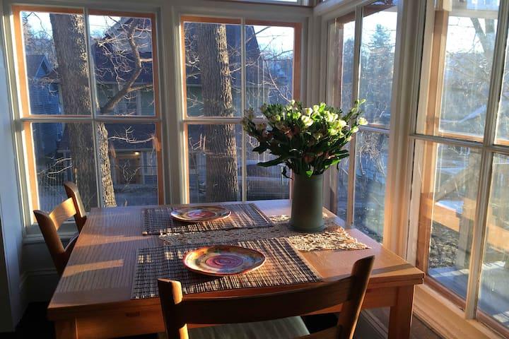 Sunset dining....