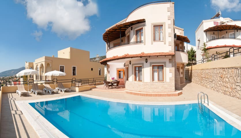 KALKAN VIEW VILLA- 4 Bedrooms, 4 bathrooms