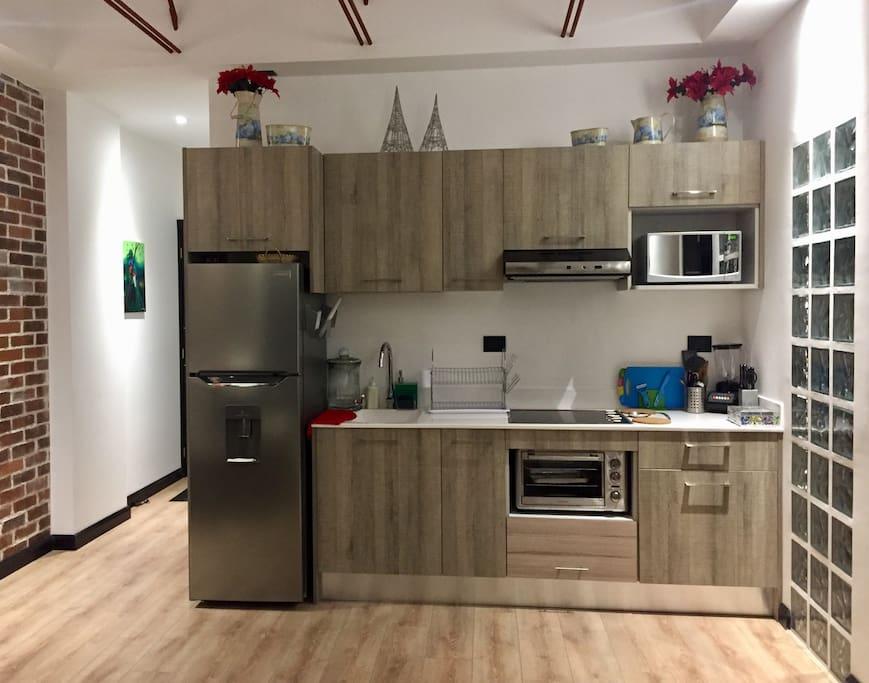 Kitchen / Cocina.