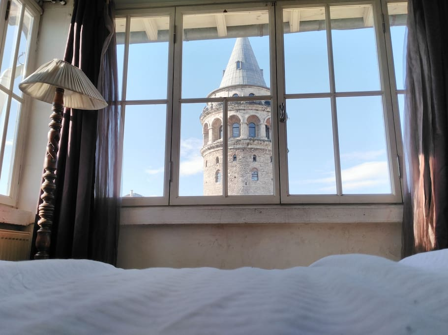 The guest room And its view