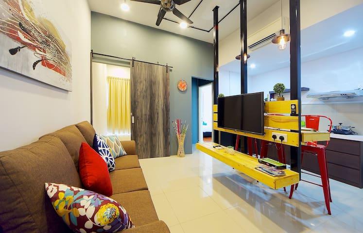 N14 911sf, Cozy, Modern 3bed@IMAGO 时尚,窝心,三房在沙巴最大商场