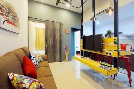 Cozy, Modern 3bed @IMAGO N4 时尚,窝心,三房在沙巴最大商场 - Társasház
