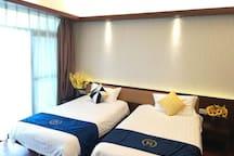 博鳌亚洲湾海景亲子二房,观海好水上乐园近多个景点