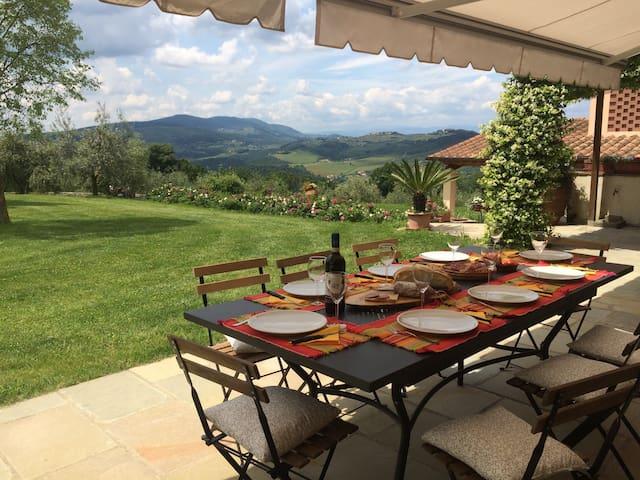 LA COLONICA PANORAMA RELAX TOSCANO - Lastra a Signa - House