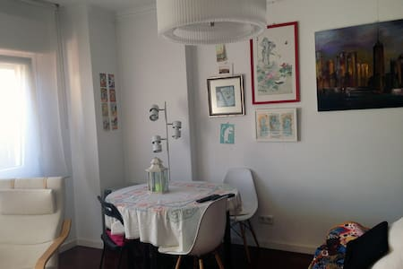 Sunny apartment&terrace at 15 minutes from Lisbon - Linda-a-Velha - Apartment - 2