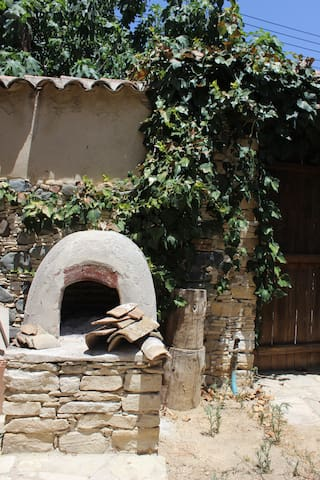 Traditional firewood oven