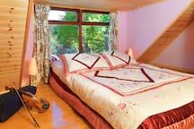 The Honeymoon Suite upstairs