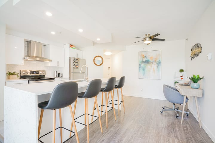 Bright and Modern 2 BR, 2 BA Luxury Apartment