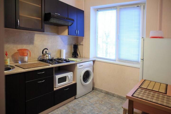 1-комнатная квартира на 3 чел. Апартаменты.
